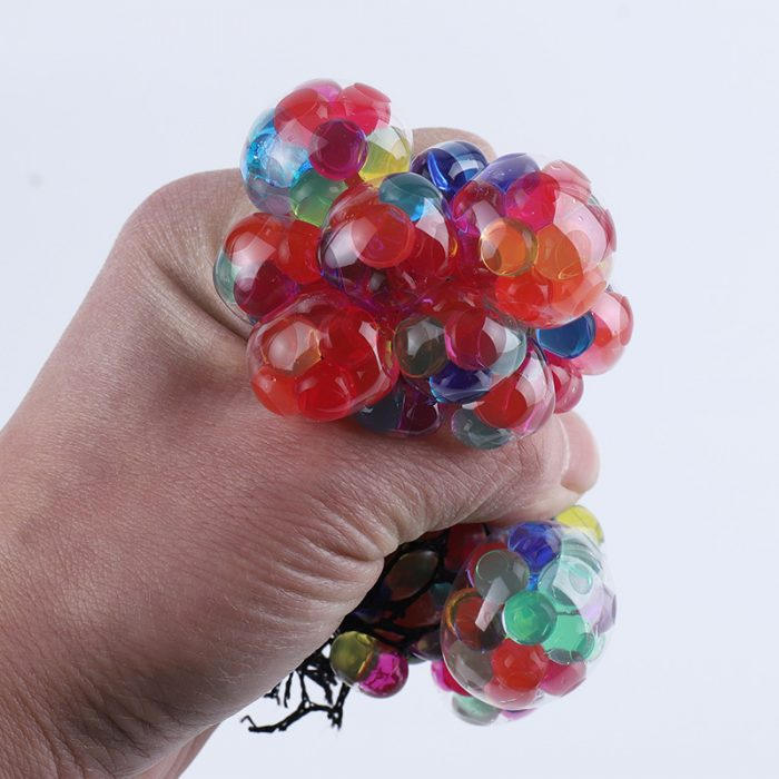 BRAIN STRESS BALL - Squeeze Busting Ball Novelty Gift