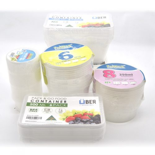 Takeaway Food Plastic Containers