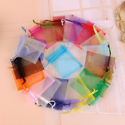 Organza Bag Sheer Bags Jewelry Wedding Candy Packaging Beads Gift